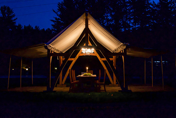 Cruck Marquee Tents