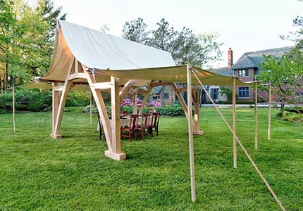 Cruck Marquee Tent